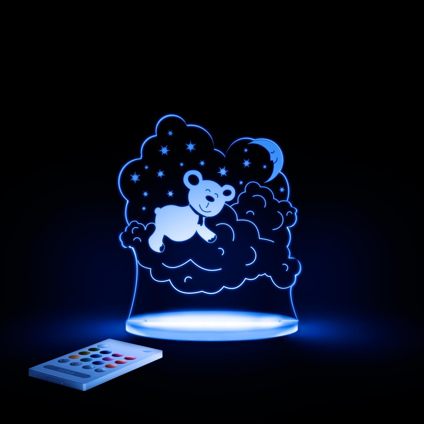 aloka Bear Sleepy Light BLUE