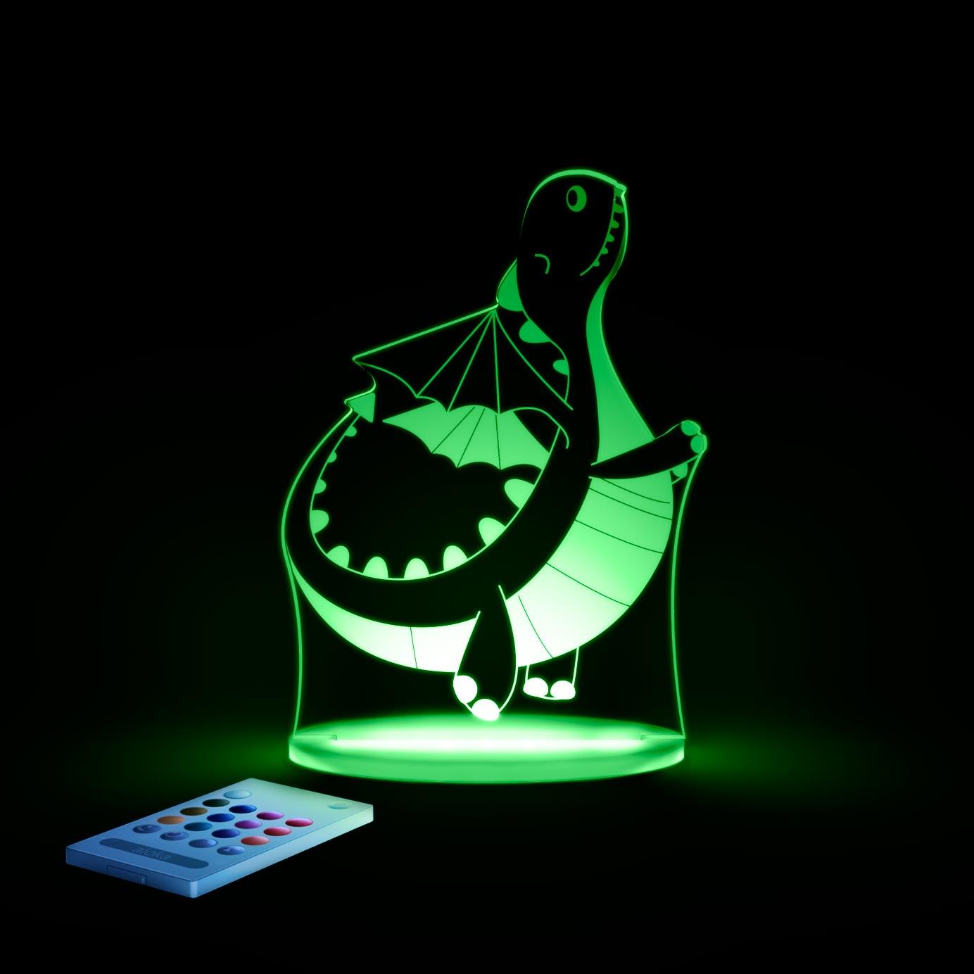 aloka Dragon Sleepy Light GREEN