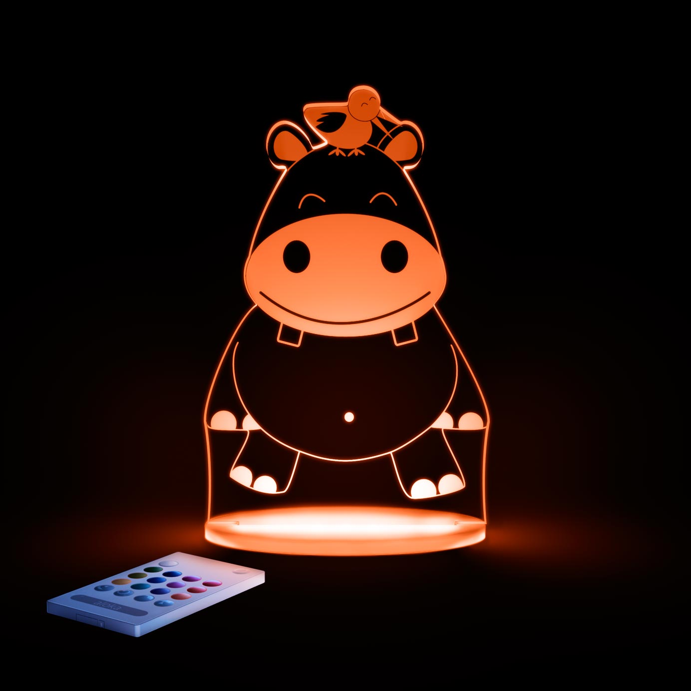 aloka Hippo Sleepy Light ORANGE