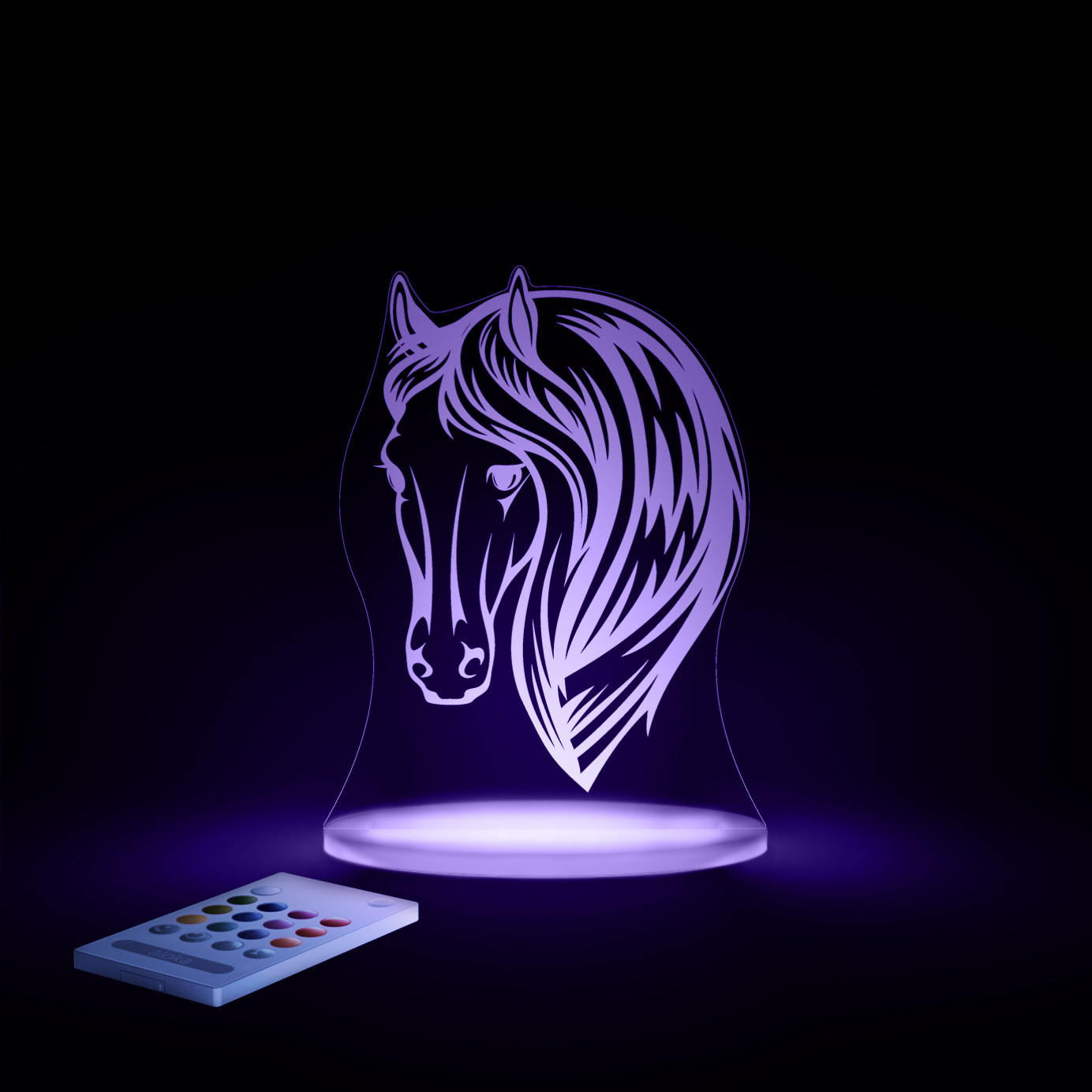 aloka Horse Sleepy Light VIOLET