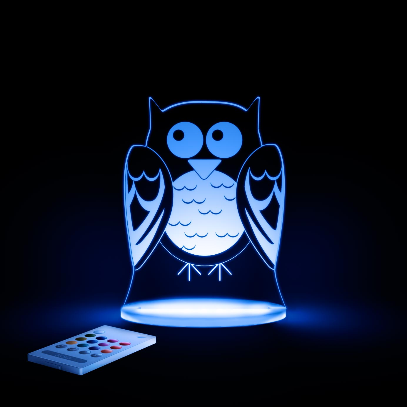 aloka Owl Sleepy Light BLUE