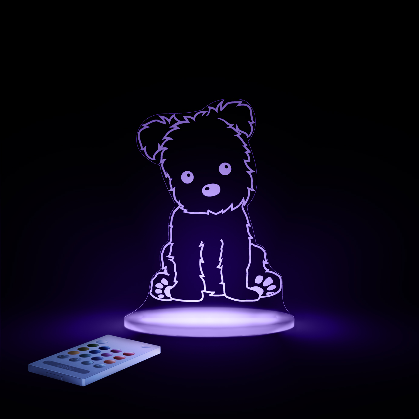 aloka Puppy Sleepy Light VIOLET